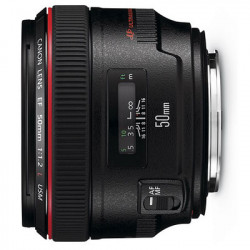 Lens Canon EF 50mm f/1.2L USM