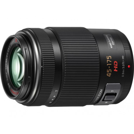 Panasonic Lumix G 45-175mm F / 4-5.6 OIS X PZ (Black)