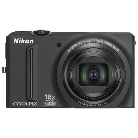 Nikon COOLPIX S9100 (черен)