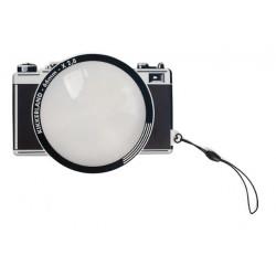 Photo Souvenir Kikkerland book splitter / magnifier 2.8x (SLR)