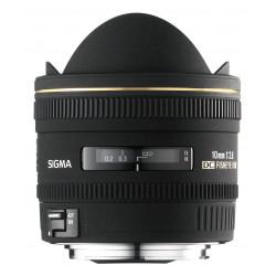 обектив Sigma 10mm f/2.8 EX DC HSM Fisheye за Nikon