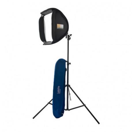 Lastolite EzyBox Hotshoe Kit 54x54cm 2471 Strobe Set