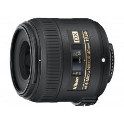 обектив Nikon DX Micro 40mm f/2.8 + филтър Praktica UV MC 52mm