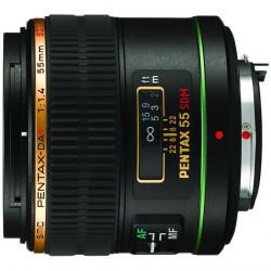 обектив Pentax SMC 55mm f/1.4 DA* SDM
