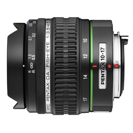 Pentax SMC 10-17mm f/3.5-4.5 DA ED Fisheye