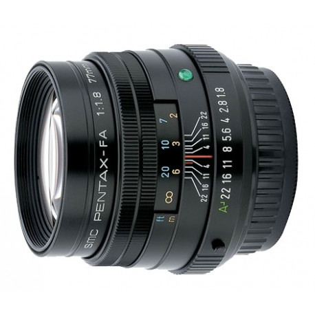 Pentax SMC 77mm f/1.8 FA Limited