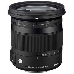 обектив Sigma 17-70mm f/2.8-4 DC HSM OS Macro | C за Nikon