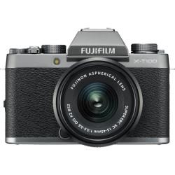 Camera Fujifilm X-T100 (dark silver) + Lens Fujifilm Fujinon XC 15-45mm f / 3.5-5.6 OIS PZ + Lens Fujifilm Fujinon XC 35mm f / 2