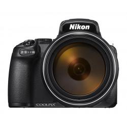 фотоапарат Nikon Coolpix P1000 (черен) + аксесоар Nikon ML-L7 Дистанционен спусък + батерия Nikon EN-EL20A