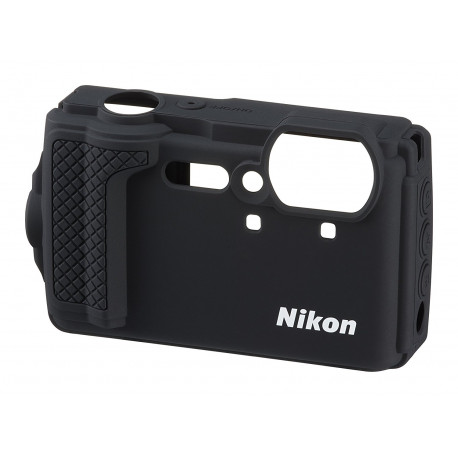 NIKON SILICONE JACKET FOR W300 CF-CP3 BLACK