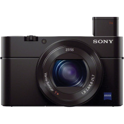 Camera Sony RX100 III + Case Sony LCS-RXG Soft Carrying Case (черен) + Accessory Sony AG-R2 Attachment Grip