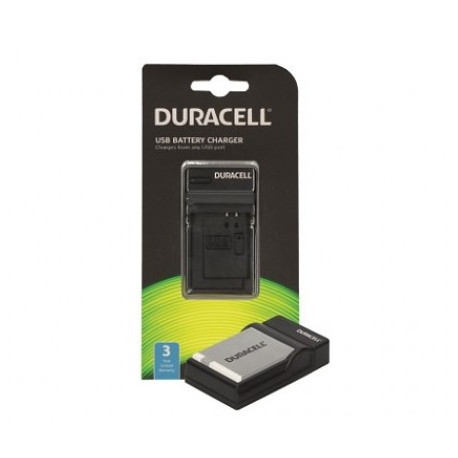 Duracell DRC5901 USB Charger for Canon NB-6L
