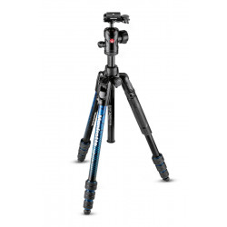 Manfrotto Befree Advanced Travel Tripod (Blue)