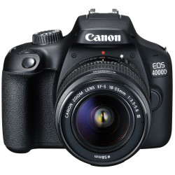 CANON EOS 4000D BLACK+18-55MM DC III KIT+10-18MM IS STM