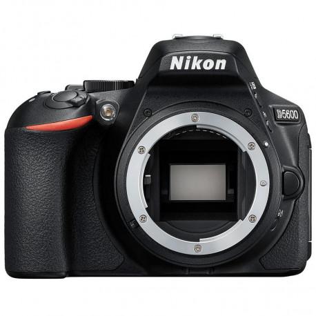 фотоапарат Nikon D5600 + обектив Nikon 18-105mm VR + обектив Nikon DX 35mm f/1.8G + карта SanDisk Ultra SDHC 16GB UHS-I SDSDUNB-016G-GN3IN