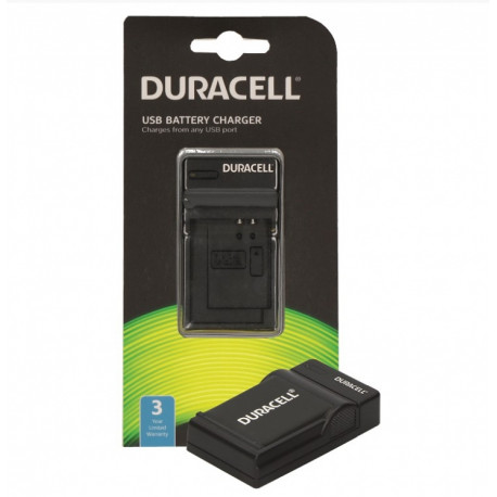 Duracell DRO5940 USB Charger for the Olympus LI-40B