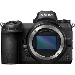 фотоапарат Nikon Z6 + адаптер Nikon FTZ (адаптер за F обективи към Z камера) + батерия Nikon EN-EL15B + видеоустройство Atomos Ninja V + батерия Atomos ATOMPWRKT1 Power Kit + аксесоар Atomos кабел 30 см. HDMI - Mini HDMI + стабилизатор Smallrig SR-1984 Universal Nato Дръжка за клетки + клетка Smallrig CCN2262 с плочка за бързо освобождаване за Nikon Z6 и Z7 (Quick Release Half Cage) + аксесоар Smallrig SR-2212B Ябълковиден Magic Arm с винтов захват 1/4 и 3/8 резби