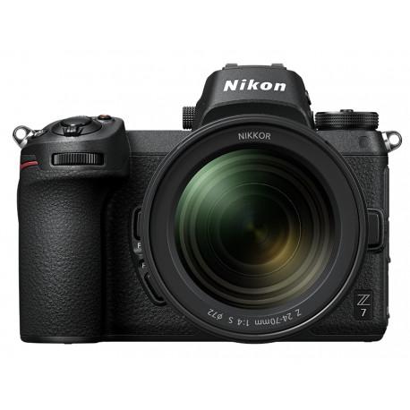 Nikon Z7 + Lens Nikon Z 24-70mm f/4 S + Bag Nikon Leather bag CS-P14