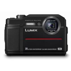 фотоапарат Panasonic FT7 (черен) + карта Lexar 32GB Professional UHS-I SDHC Memory Card (U3)
