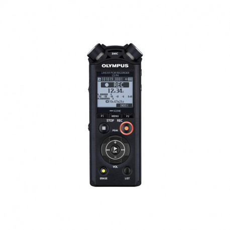 OLYMPUS LS-P4 LINEAR PCM RECORDER VIDEO KIT