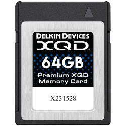 карта Delkin Devices XQD 64GB 2933X 440R/400W