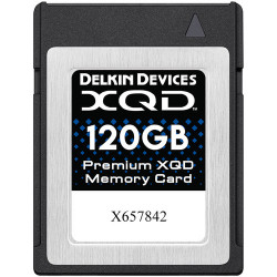 Memory card Delkin Devices XQD 120GB 2933X 440R / 400W