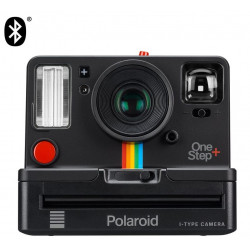 фотоапарат Polaroid Originals One Step+ i-Type (Черен) + фото филм Polaroid Originals i-Type цветен
