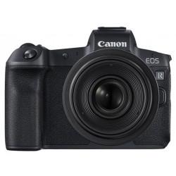 фотоапарат Canon EOS R + адаптер за EF/EF-S обективи + обектив Canon RF 24-105mm f/4L IS USM + обектив Canon RF 35mm f/1.8 Macro
