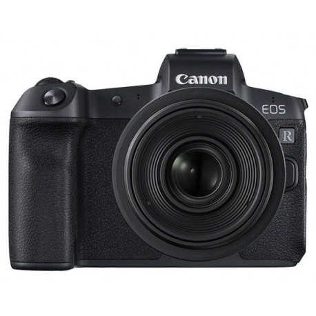 Canon EOS R + adapter for EF / EF-S lenses + Lens Canon RF 24-105mm f/4L IS USM + Lens Canon RF 35mm f/1.8 Macro