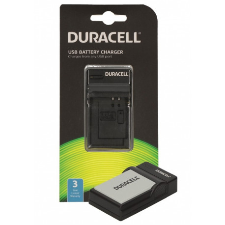 Duracell DRC5908 USB Charger for Canon NB-10L