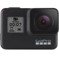Camera GoPro HERO7 Black + Charger GoPro AJDBD-001-EU Dual Charger + Battery for HERO8 / 7 Black