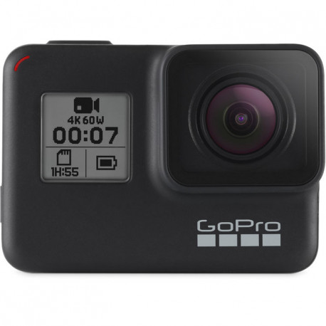 видеокамера GoPro HERO7 Black + батерия GoPro Rechargeable Battery HERO5 Black AABAT-001-EU