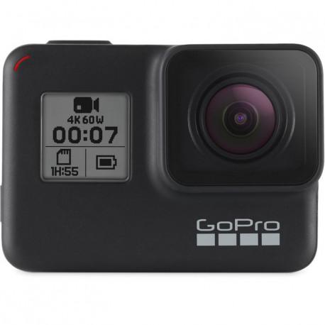 Camera GoPro HERO7 Black + Stabilizer GoPro Gyroscopic anti-roll bar Karma Grip AGIMB-002-EU