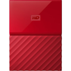 HDD Western Digital My Passport 1TB External Memory (Red)