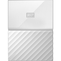 HDD Western Digital My Passport 1TB External Memory (White)