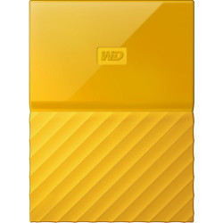 HDD Western Digital My Passport 1TB External Memory (Yellow)
