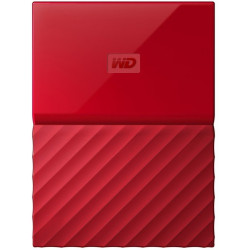 HDD Western Digital 2TB External Memory (Red)