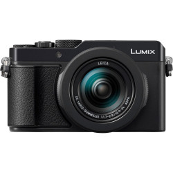 фотоапарат Panasonic Lumix LX100 II (черен) + батерия Panasonic Lumix DMW-BLG10 Li-Ion Battery Pack