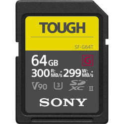 карта Sony Tough SDXC 64GB UHS-II U3 + зарядно у-во Sony CP-V10B/B1 Portable Charger