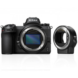 фотоапарат Nikon Z6 + адаптер Nikon FTZ адаптер (F обективи към Z камера) + обектив Nikon Z 14-30mm F/4S