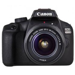 фотоапарат Canon EOS 4000D + обектив Canon 18-55mm F/3.5-5.6 DC III + карта Lexar Professional SD 64GB XC 633X 95MB/S