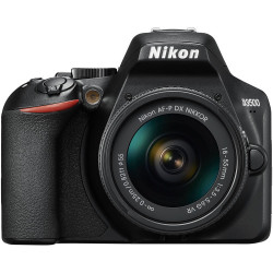 фотоапарат Nikon D3500 + обектив Nikon AF-P 18-55mm VR + обектив Nikon AF-P DX Nikkor 70-300mm f/4.5-6.3G ED VR