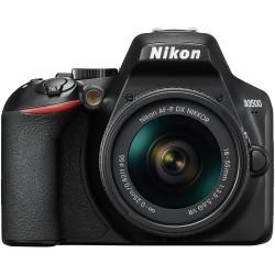DSLR camera Nikon D3500 + Lens Nikon AF-P 18-55mm VR + Lens Nikon 50mm f/1.8G + Lens Nikon DX Upgrade Kit
