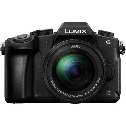 Camera Panasonic Lumix DMC-G80 + Lens Panasonic Lumix G Vario 12-60mm f / 3.5-5.6 Asph. Power OIS + Battery Panasonic DMW-BLC12E
