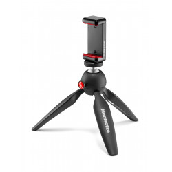 MANFROTTO MKPIXICLAMP-BK PIXI MINI TRIPOD WITH SMARTPHONE CLAMP
