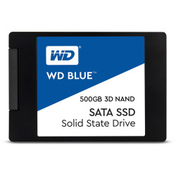 SSD диск Western Digital SSD Blue 500GB SATA III 3D
