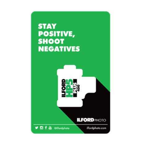 ILFORD MAGNET STAY POSITIVE