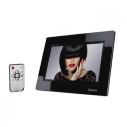 "Digital Frame Hama Digital Photo Frame 7.0 ""(Black)"