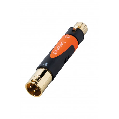 BESPECO SLAD530 XLR MALE - FEMALE ADAPTOR