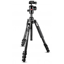 Manfrotto Befree Advanced Travel Tripod with Tweezers (Black)